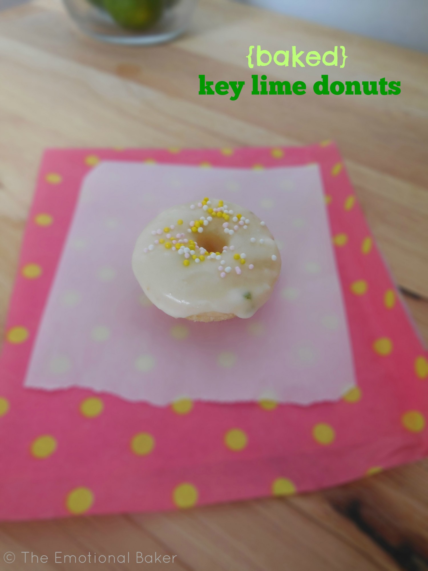 Lime Donuts