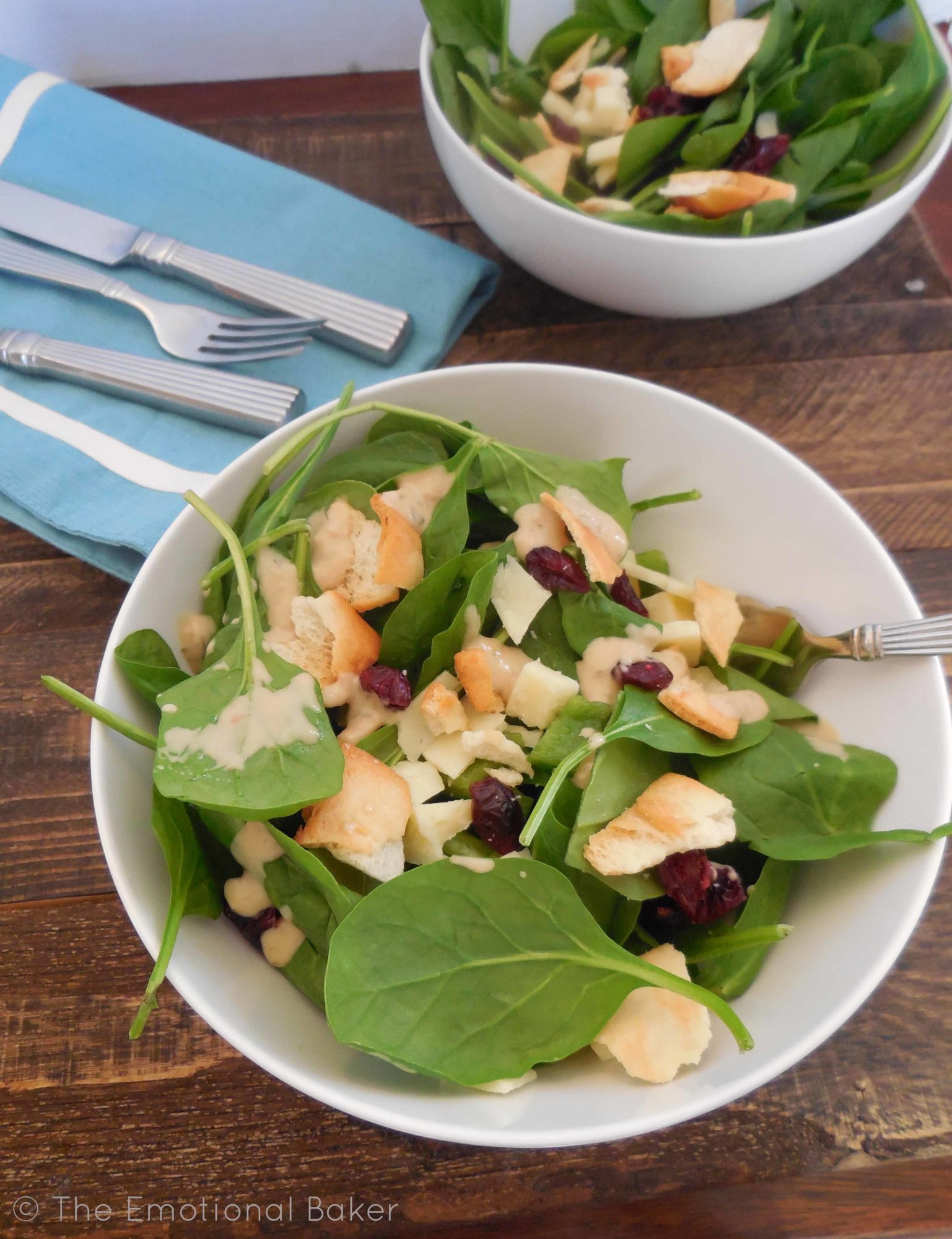Spinach Cranberry Salad