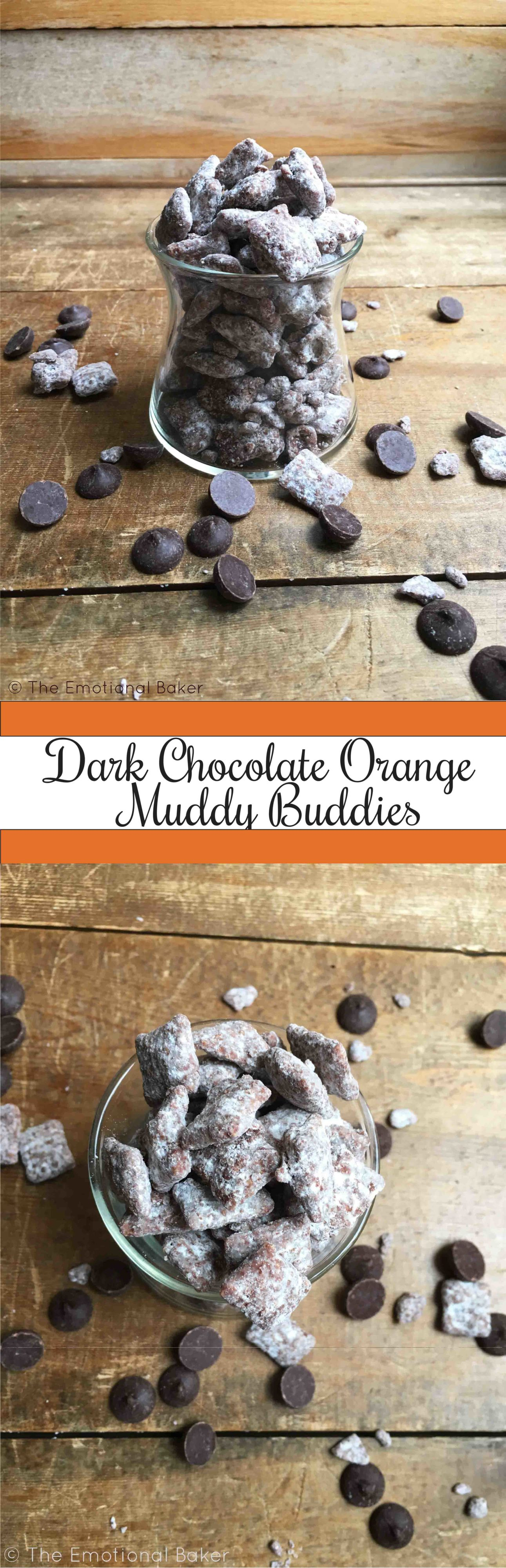 Dark Chocolate Orange Muddy Buddies