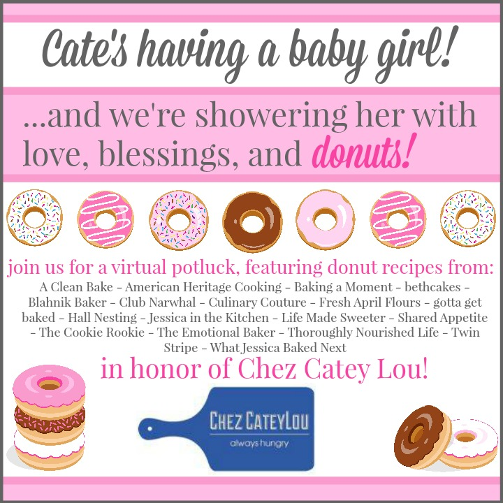 Chez Catey Lou Donut Shower Graphic