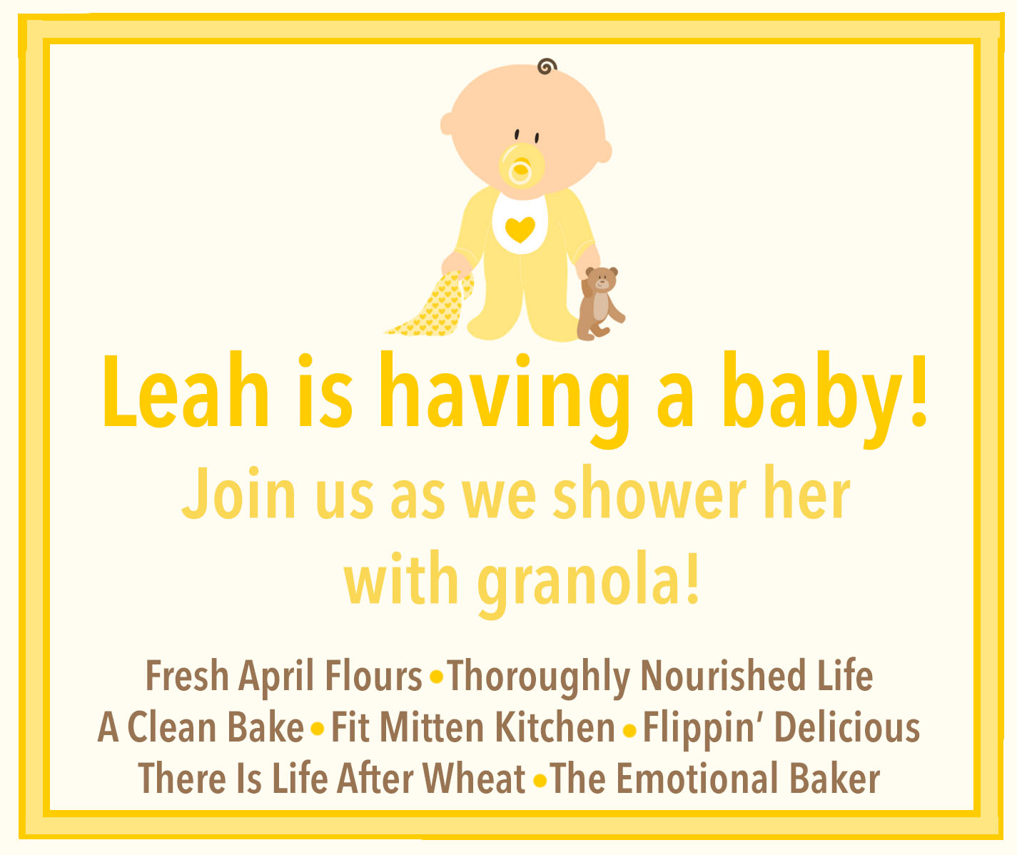 Leah's Baby Shower