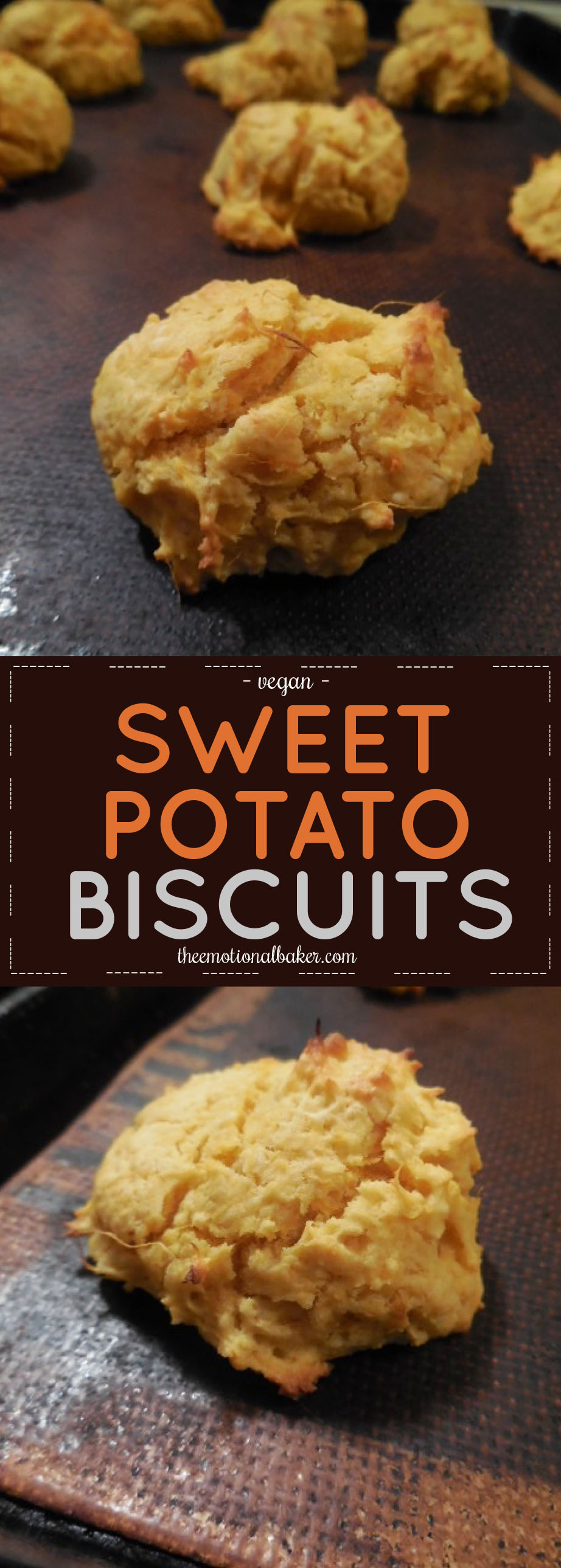 Easy, vegan sweet potato biscuit recipe perfect for pairing with soup or chili