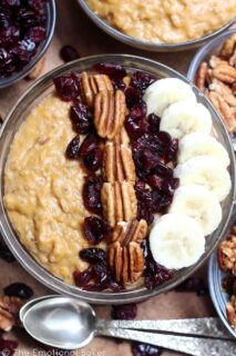 Sweet Potato Casserole Steel Cut Oatmeal
