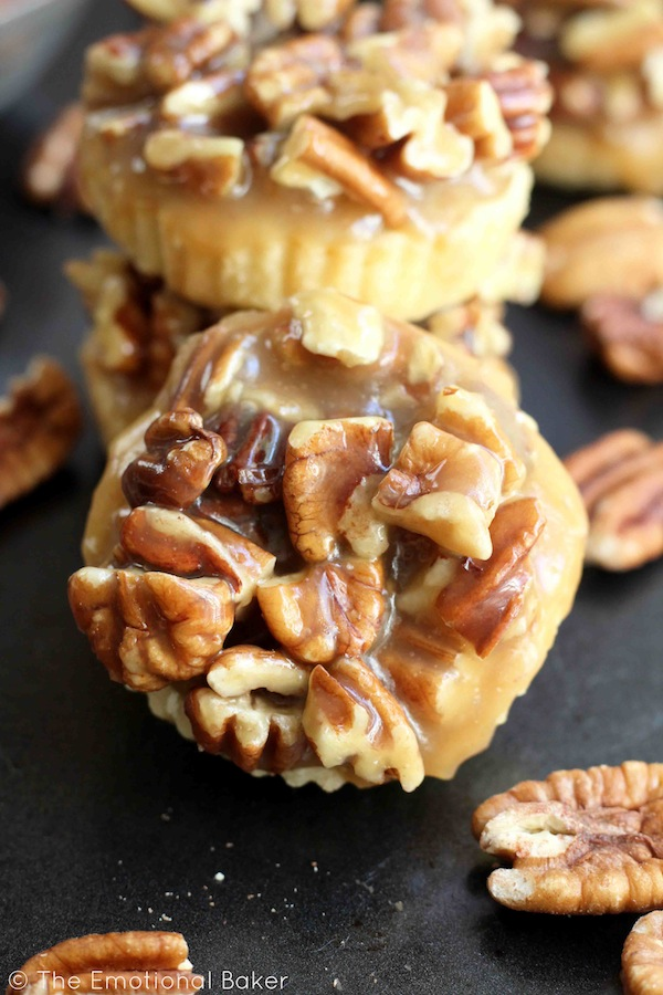 Pecan Pie Shortbread Cookies | The Emotional Baker