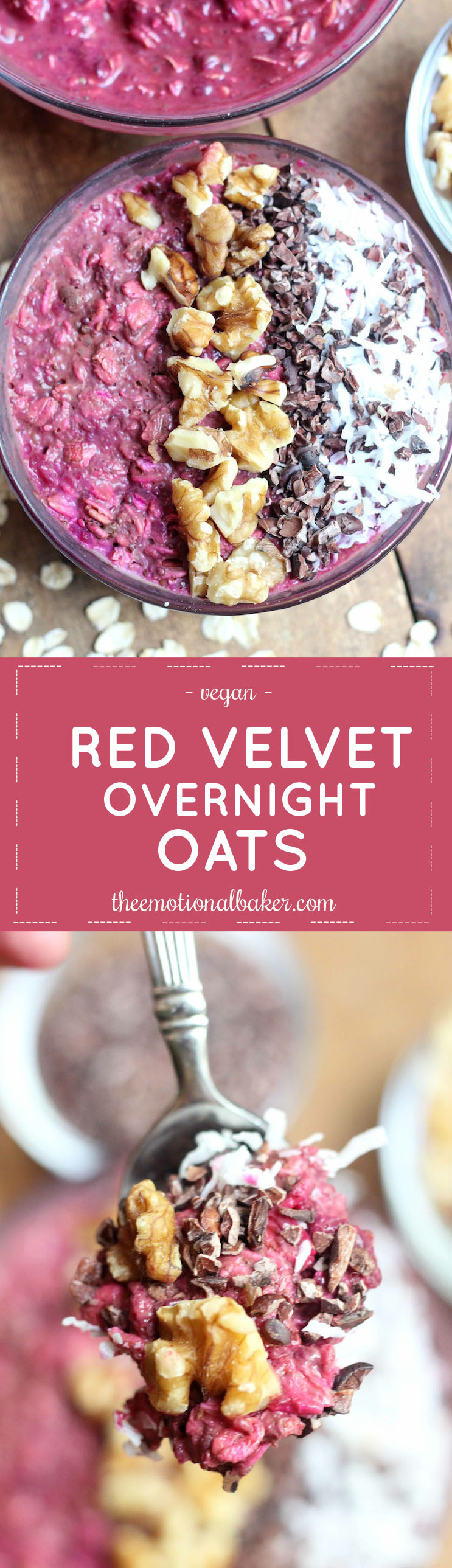 Start your day with these easy and nutritious Red Velvet Overnight Oats.